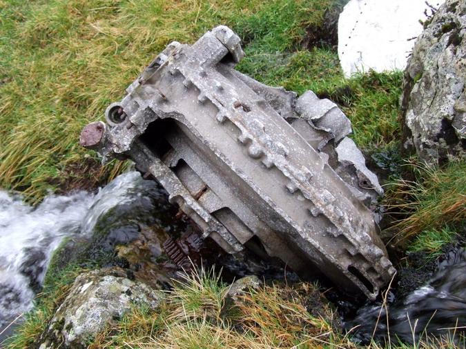 Cwm Llafar, Nant Fach - 20091108 - Lincoln, RF511, 15 Mar 1950 - 32