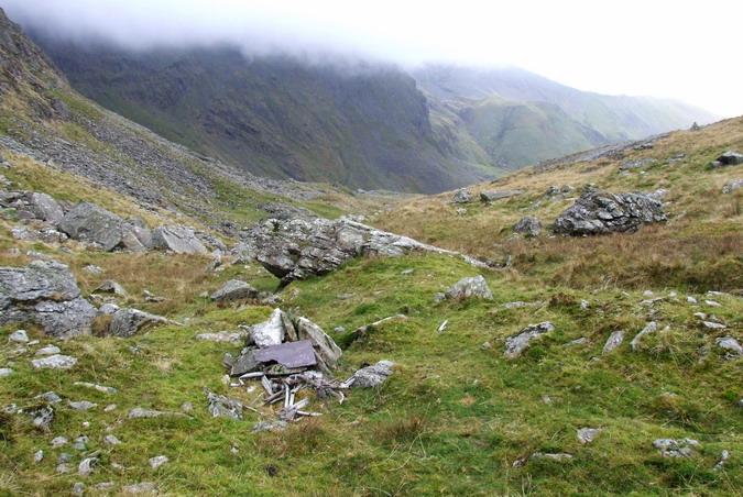 Cwm Llafar, Nant y Graig - 20091108 - Wellington, DV800, 19 Jul 1942 - 01