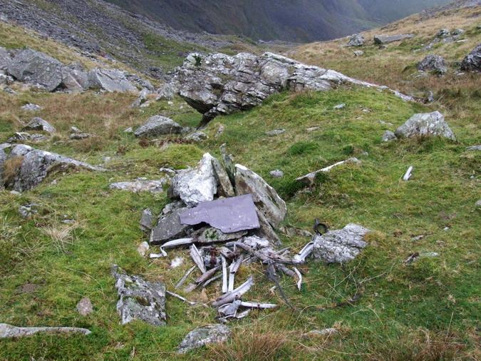 Cwm Llafar, Nant y Graig - 20091108 - Wellington, DV800, 19 Jul 1942 - 02