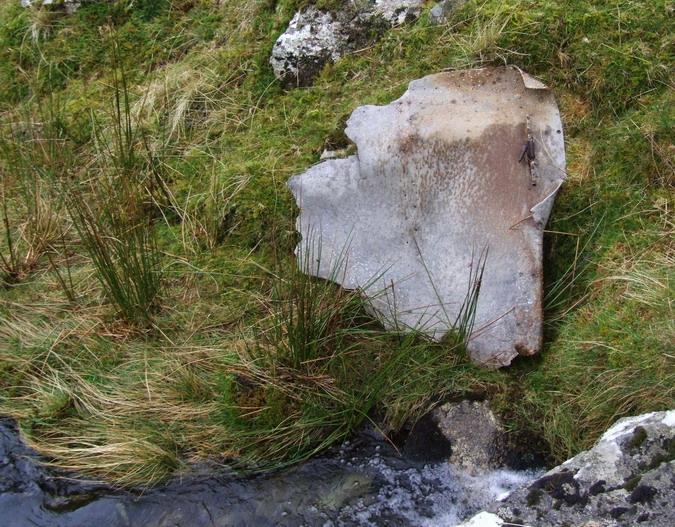Cwm Llafar, Nant y Graig - 20091108 - Wellington, DV800, 19 Jul 1942 - 05