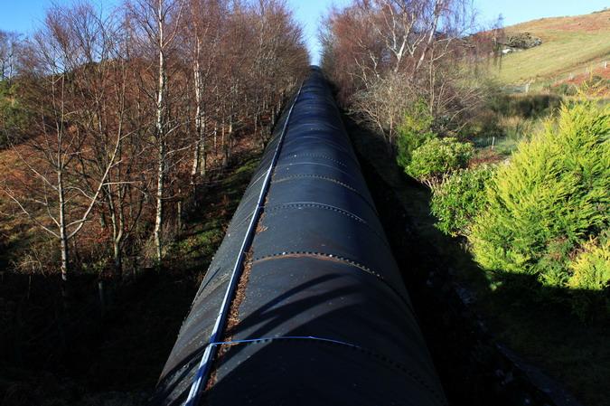 Maentwrog Pipeline at Tyn-y-Coed