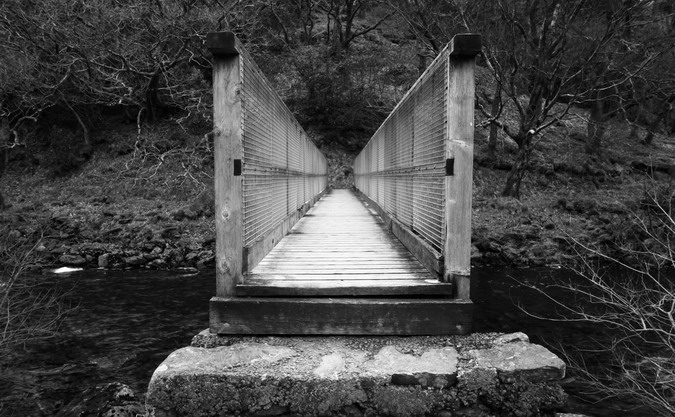 Footbridge, Afon Glaslyn