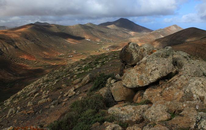Montaña de la Muda from Morro Carnero