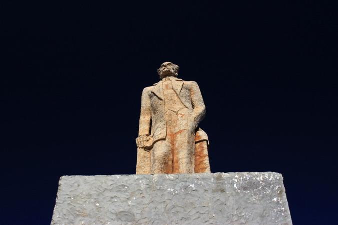 Statue of Miguel de Unamuno, Montaña Quemada