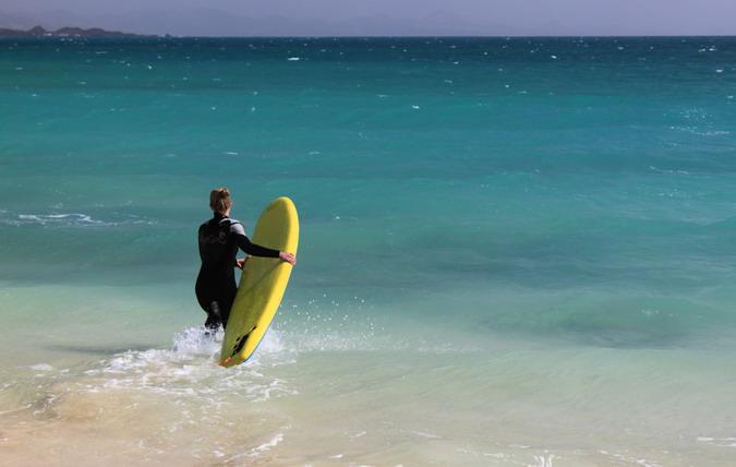 Grandes Playas, Parque Natural de Corralejo