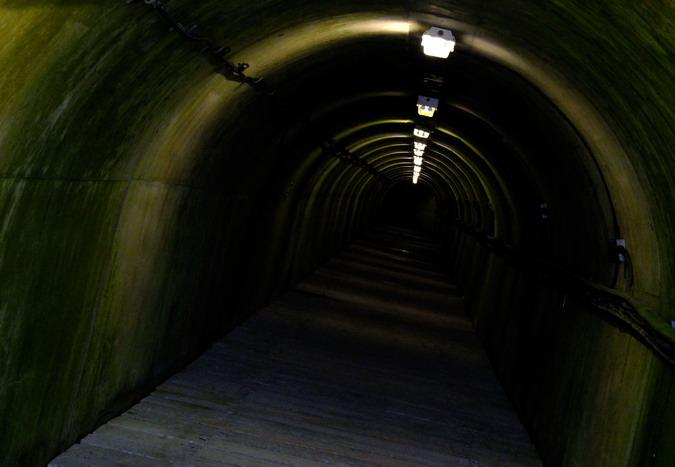 Tunnel, Marchlyn Mawr Dam