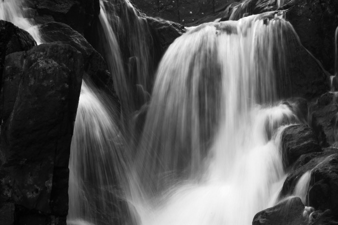 Rhaeadr Ogwen - lower falls