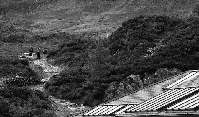 Cwm Idwal trailhead