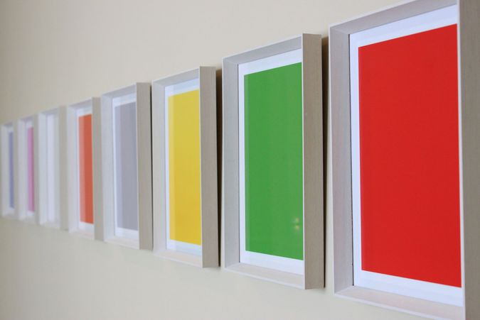 "David McBride: his ""on-going Colour Range series is a photographic investigation into colour as form through emotion"""