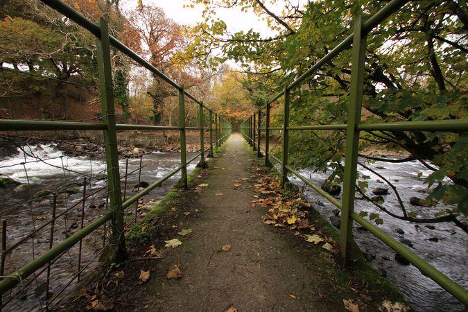 Footbridge, Cochwillan