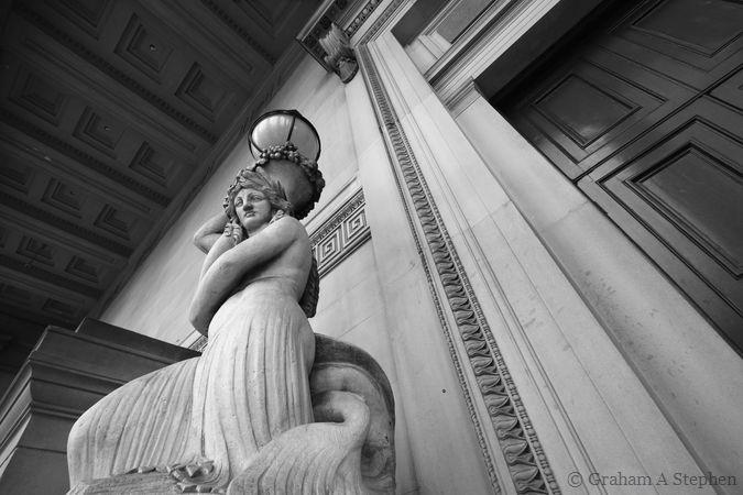 Nereid statue