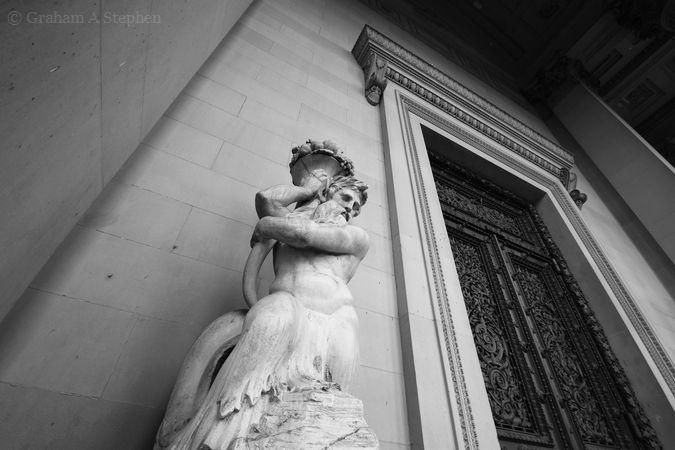 Triton statue