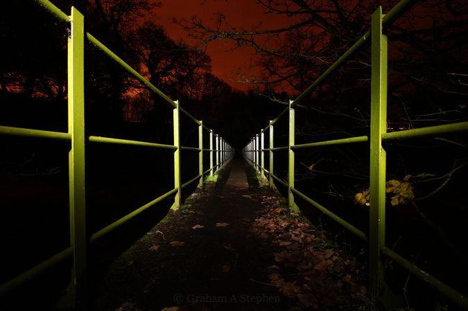 Afon Ogwen Footbridge, Cochwillan