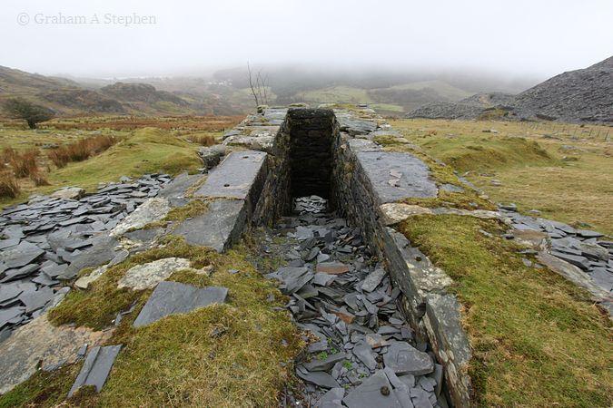 Water-wheel pit