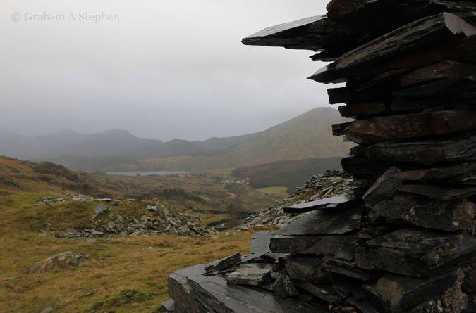 Looking towards Llyn-y-Gader