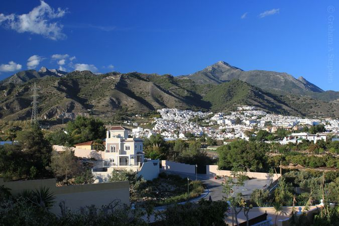 Cielo (R) and Navachica (L) from Nerja