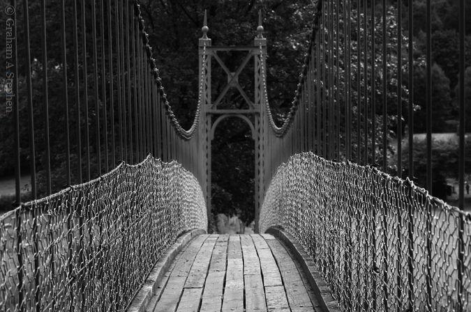 Afon Conwy Footbridge, Betws-y-Coed