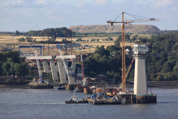 Construction of the Forth Replacement Crossing