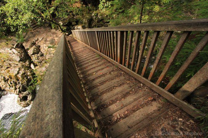 Miners' Bridge over the Afon Llugwy, Betws-y-Coed
