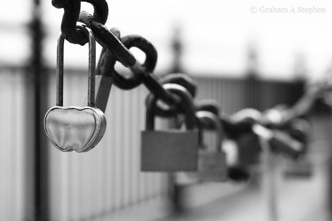 Love locks, Albert Dock