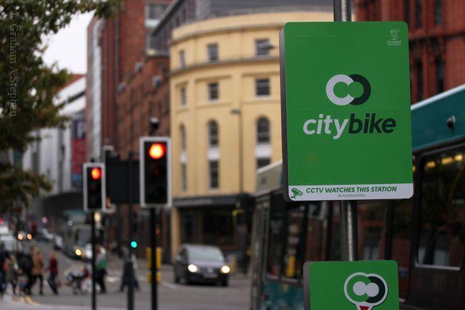 citybikes, Hanover Street, Liverpool