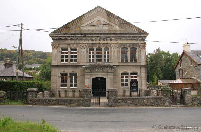 Italianate-style façade