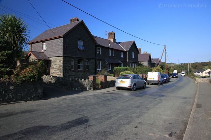Tanrhiw Road, Tregarth