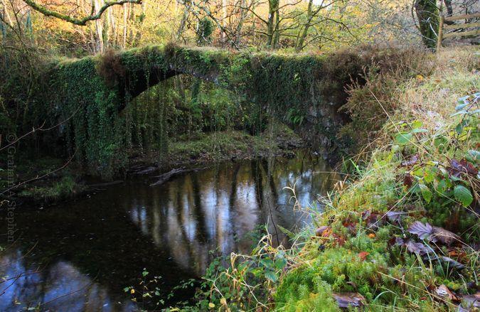 Ivy Bridge, over Afon Prysor close to Maentwrog Power Station