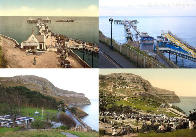 Llandudno - Now and Then