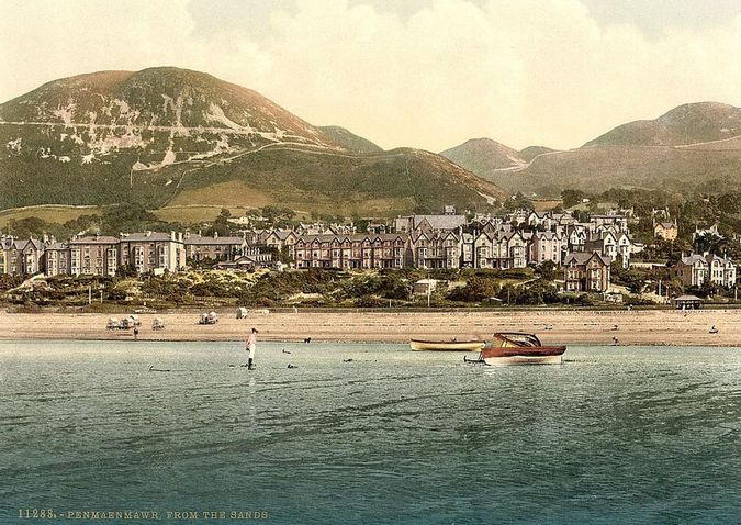 'Penmaenmawr from the sands'
