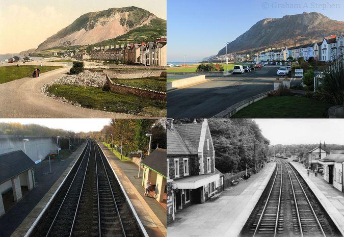 Llanfairfechan - Now and Then