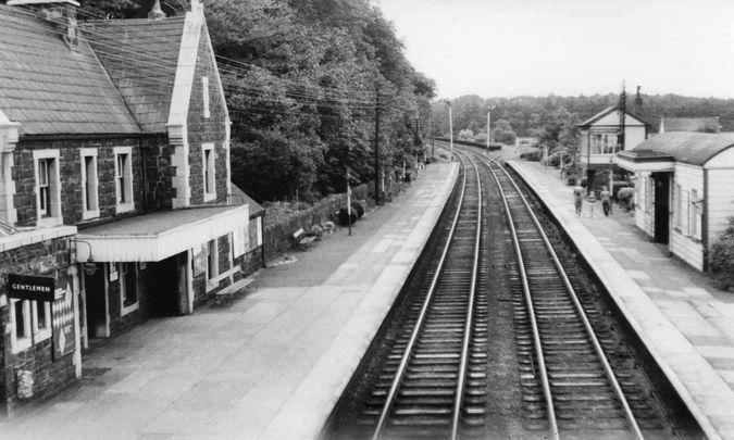 Llanfairfechan station, 1964