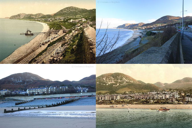 Penmaenmawr - Now and Then