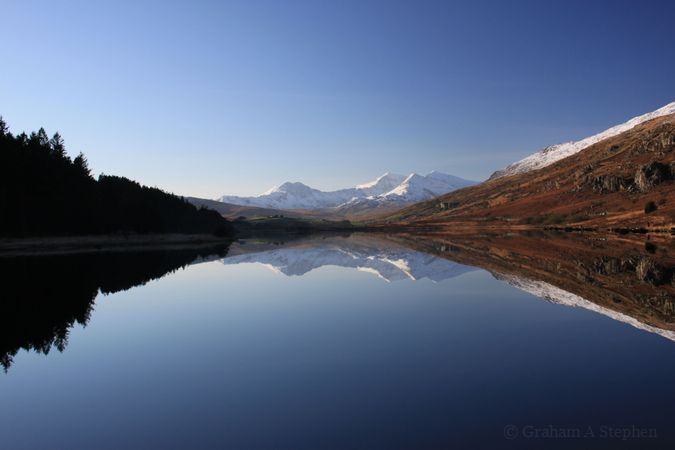Snowdon and Llynnau Mymbyr