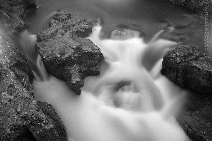 Pont-y-Pair Falls on the  Afon Llugwy, Betws-y-Coed