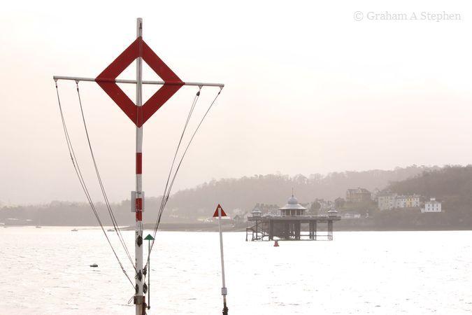 Bangor Pier from the Gazelle Hotel jetty