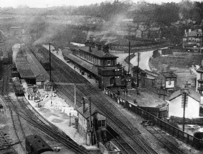 Bangor Station c 1922