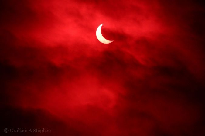 Solar Eclipse, 20 March 2015