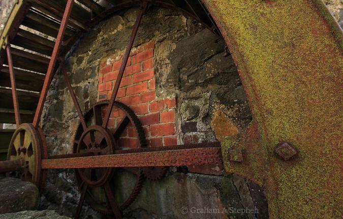 Waterwheel, Llwyn Onn