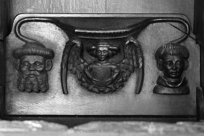 Misericord, Choir Stalls