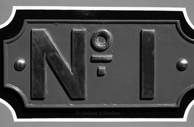 No 1  Built in Glasgow by Neilson & Co in 1870 operated at Beckton Gas Works in London for the Gas Light and Coke Company and North Thames Gas Board.  It was previously known as Alderman and then Lord Mayor.