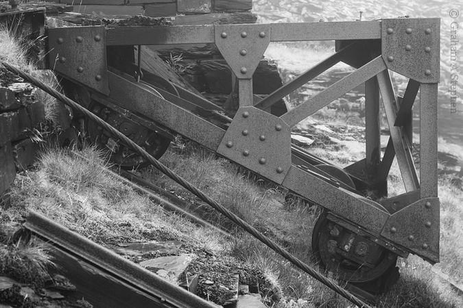 Gravity incline wagon platform, Dinorwic Quarry