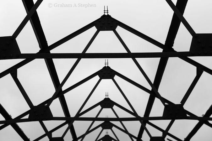 Roof trusses, Australia mill