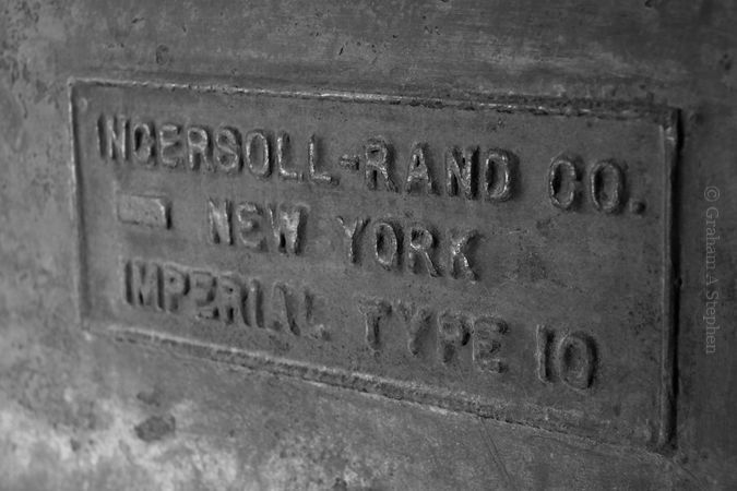'Ingersoll-Rand Co. – New York – Imperial Type 10'