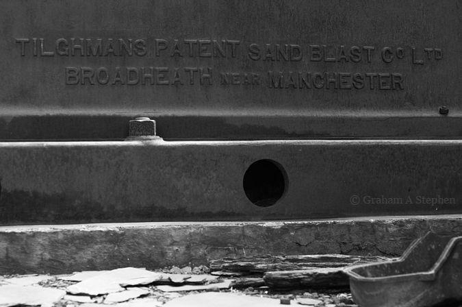 'Tilghmans Patent Sand Blast Co Ltd – Broadheath near Manchester'