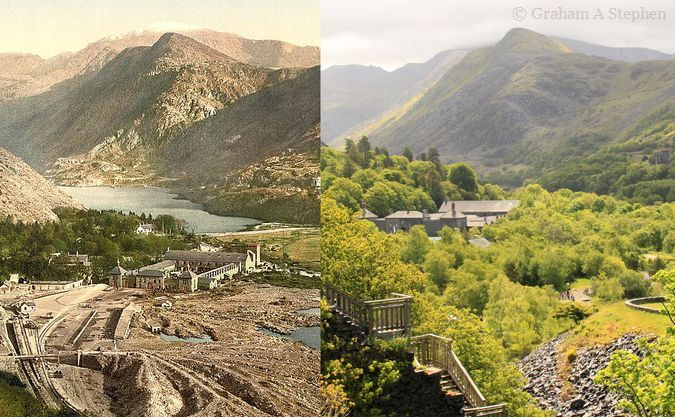 Gilfach Ddu - Now and Then