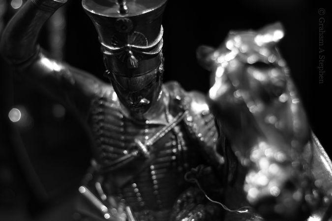 Silver Waterloo statuette