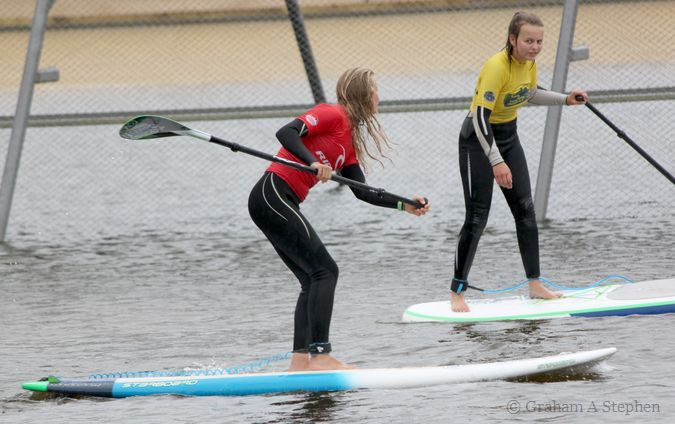 Stand Up Paddle instruction