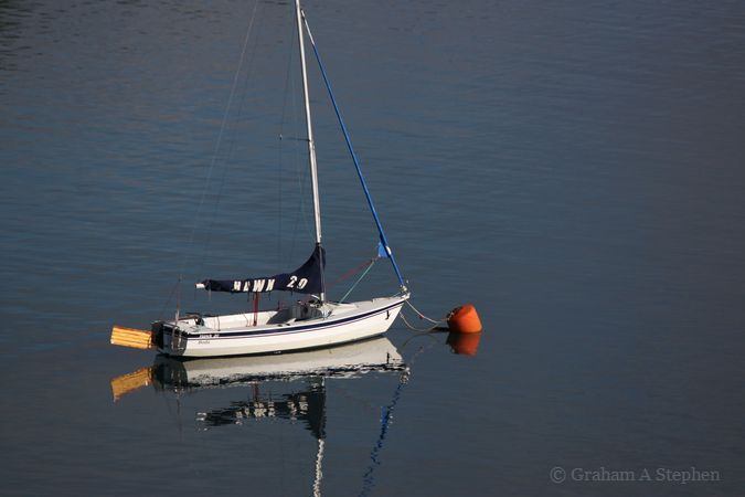 Menai Strait from Plas Newydd