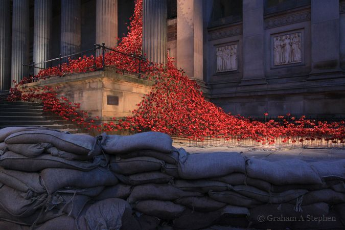 Weeping Window, St George's Hall, Liverpool, November 2015